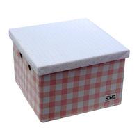 купить Коробка с крышкой 320x320x220 мм, розовый в Кишинёве