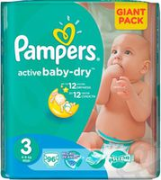 Pampers Active Baby Midi 3 (4-9 кг.) 96 шт.