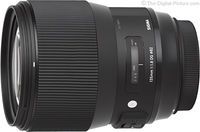 Prime Lens Sigma AF 135mm f/1.8 DG HSM Art F/Can