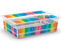 Коробка с крышкой School L, 27l, 55X38.5X16.5cm