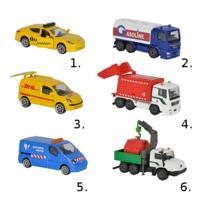 Машинки из серии Городская техника, 7,5 см, 6 видов 2057500