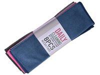 купить Набор тряпок микрофибра EH 6шт, 30X30cm, 3 цвета в Кишинёве