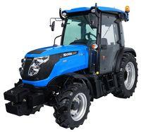 Трактор Solis N90 (90 л. с., 4x4) для садов и виноградников