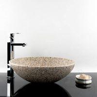 Раковина для ванной Гранит Паданг Желтый 42 x 14 см
