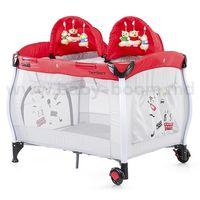 Chipolino Манеж-кровать TwinStars TS152RE красная