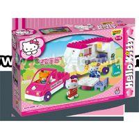 Androni Giocattoli 8679-00HK Конструктор Трейлер Hello Kitty (47 эл)