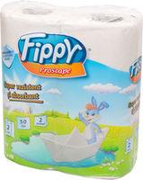 FIPPY Кухонные полотенца 2 слоя 2 рулона  10.5m