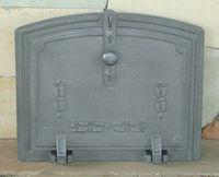 Дверца для духовки чугунная глухая Halmat