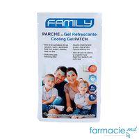 Emplastru gel Family cu efect de racire 8 ore  N1 ( p/u febra la adulti si copii)