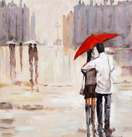 Oil Paintings Rainy Day (CIT06000907)