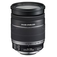 Canon EF-S 18-200mm f/3.5-5.6 IS, Zoom Lenses