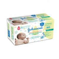 Влажные салфетки детские Johnson's Baby Cotton Touch, 112 шт.