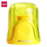 Tочилка Deli желтый - R010