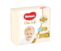 Подгузники Huggies Elite Soft Jumbo 5 (12-22 kg), 28 шт.