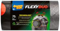 Пакеты для мусора Freken Bok Flexy Duo, 70л, 10 шт.