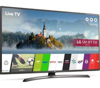"""43"""" LED TV LG 43LJ624V, Black (1920x1080 FHD, SMART TV, PMI 1000Hz, DVB-T2/T/C/S2) (43"""", Black, IPS Full HD, PMI 1000Hz, SMART TV (WebOS 3.5), 3 HDMI, 2 USB (foto, audio, video), DVB-T2/C/S2, OSD Language: ENG, RU, RO, Speakers 2x10W, 10.5Kg, VESA 200x200 )"""