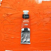 Vopsea în ulei, Tician, portocaliu de cadmiu, 46 ml