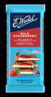 Молочный шоколад Wedel Strawberry, 100г