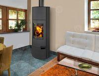 купить Каминная печь - ROMOTOP LUGO 03 W листовой металл, с теплообменником в Кишинёве