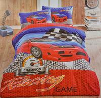 """Детское постельное белье Bella Home """"Racing Game"""", 100% хлопок, Евростандарт, 1 наволочка"""