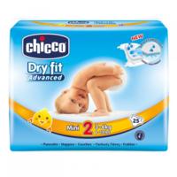 Chicco подгузники Мini 2, 3-6кг. 25шт