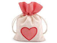 Gift pouch bag, heart