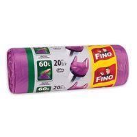 Fino Пакеты для мусора с затяжками 60 л, 20 шт.