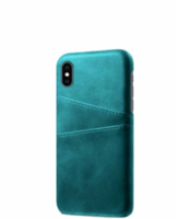 Чехол ТПУ Helmet Leather Case With Pocket Xiaomi Redmi Note 9S/Note 9 Pro/Note 9 Pro Max, Green