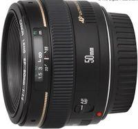 CANON EF 50mm f/1.4, черный