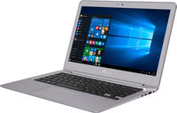 """NB ASUS 13.3"""" Zenbook UX330UA Grey (Core i5-7200U 8Gb 256Gb Win 10) 13.3"""" Full HD (1920x1080) Non-glare, Intel Core i5-7200U (2x Core, 2.5GHz - 3.1GHz, 3Mb), 8Gb (OnBoard) PC3-14900, 256Gb M.2, Intel HD Graphics, micro HDMI, 802.11ac, Bluetooth, 1x USB 3.1 Type C, 2x USB 3.0, Card Reader, HD Webcam, Windows 10 Home RU, 3-cell 57 WHrs Polymer Battery, Illuminated Keyboard, 1.2kg, Metal Grey"""