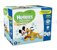 Huggies Ultra Comfort Box Boy 4 (8-14 кг.) 126 шт.