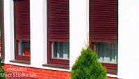 Роллеты на окна в Молдове, электрические (с пультом) с монтажом (ширина 1,8 метра, высота 1,6 метра)