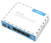 Router wireless MikroTik hAP lite classic (RB941-2nD)