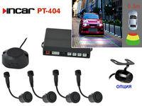 Парктроник видео PT-404 (4 сенсора)