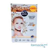 Acty Mask Set N1 (3 masti Cryo + 1 masca anti-age cu praf de Aur 24K CADOU )