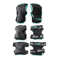 Защита для роликов в компл. Rollerblade X-Gear W3 Pack, 067P0300100