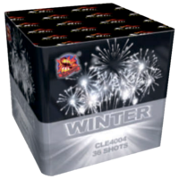 Батарея салютов Dinamit Winter CLE4004
