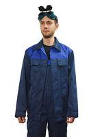 Костюм темно-синий 003 (куртка+полукомбинезон)