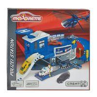 Majorette Игровой набор Полицейский участок с машинкой