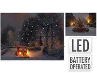 """Картина LED """"Вечер под рождество"""" 40X30cm"""