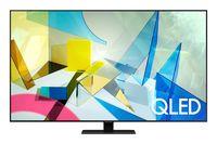 TV QLED Samsung QE75Q80TAUXUA, Black