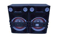 Boxe, Ailiang, 2x50 W, USB/SD Card, Bluetooth/FM radio, 220-240V, Panou cu comenzi/Microfon/Telecomanda