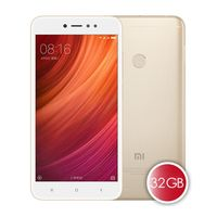 "5.5"" Xiaomi RedMi Note 5A Prime (Global) 32GB Gold 3GB RAM, Qualcomm Snapdragon 425 Quad-core 1.4GHz, Adreno 308, DualSIM, 5.5"" 720x1280 IPS 236ppi, microSD, 13MP/5MP, LED flash, 3080mAh, FM-radio, WiFi-AC, BT4.2, LTE, Android 7.0 (MIUI9), Infrared port"