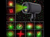 Proiector Laser cu LED de Anul Nou pentru  pentru decorarea casei și străzilor IP44 ( cu telecomanda)