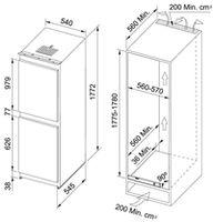 Холодильник Franke FCB 320 NR V