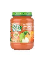 Пюре Baby Vita без сахара, тыква, яблоко, 180г