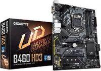 MB S1200 Gigabyte B460 HD3 1.0  ATX