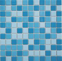 Мозаика керамическая K60062  (голубой микс)