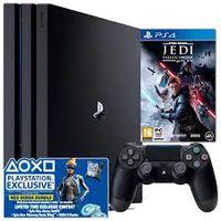 Consola SONY PlayStation 4 PRO 1TB + Fortnite Neo Versa Bundle + Star Wars Jedi Fallen Order