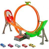 Hot Wheels Трек «Безумный форсаж» с 5 машинками
